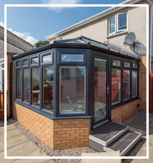 conservatory spray painting West Midlands