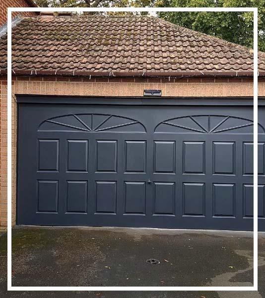 garage door spraying service near me