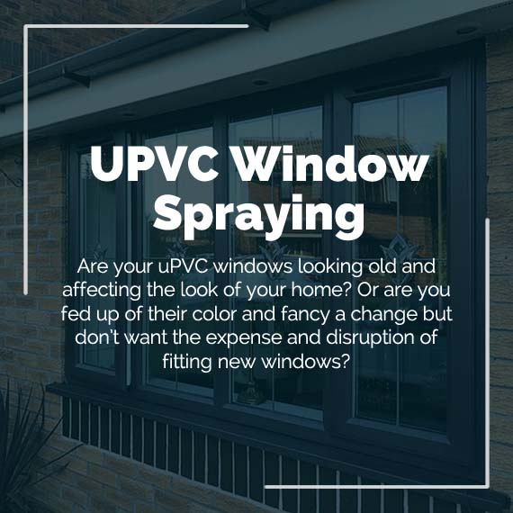 painting upvc window frames West Midlands