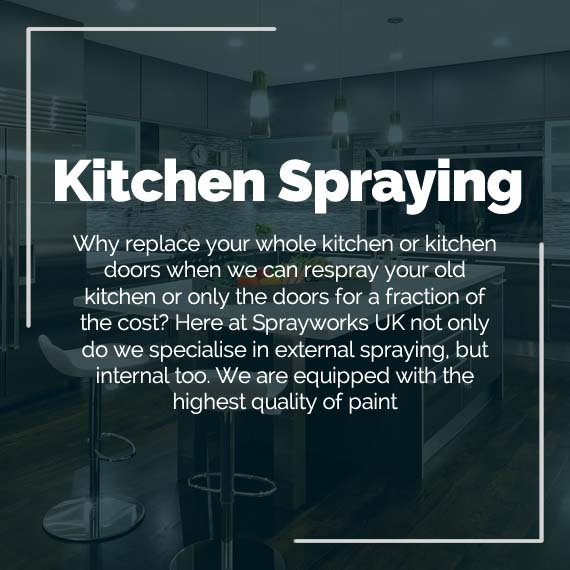 spray painting kitchen cabinets West Midlands and Staffordshire