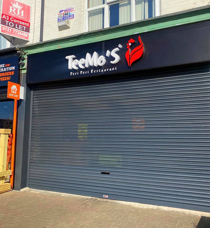 Check out our transformation on another restaurant front. This time we visited T...