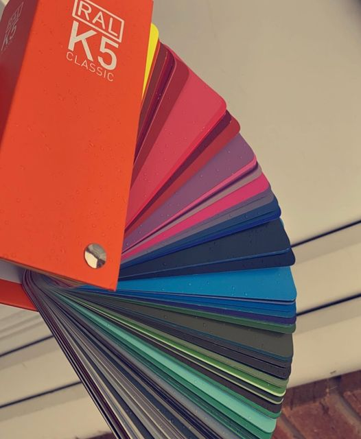 Fancy a change of colour?  Have you ever had hundreds of colours to choose from ...
