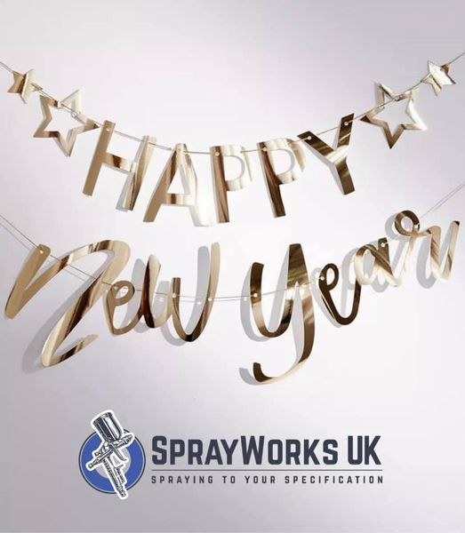 Our team here at Sprayworks UK wishes you joy and happiness in the new year....