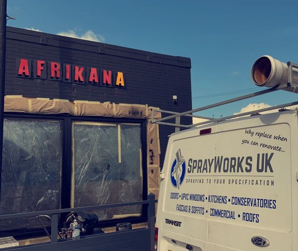 Sprayworks UK - Helping Big and Small businesses transform their properties and ...