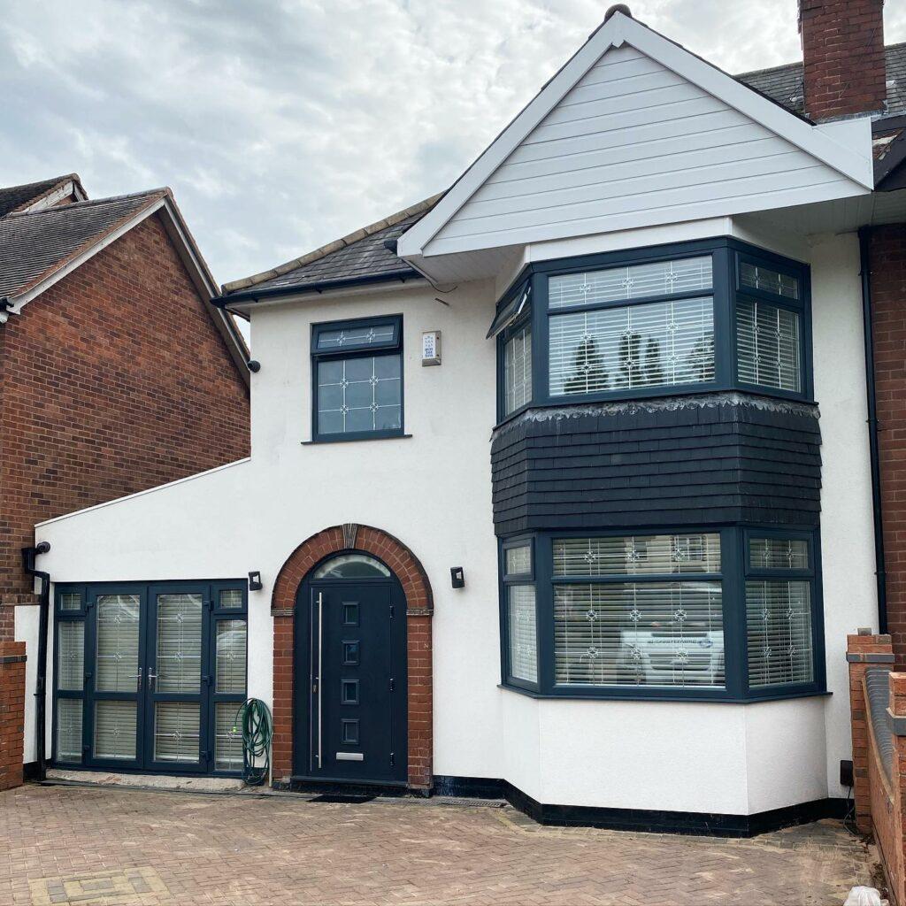 Stunning finish on this stunning home....