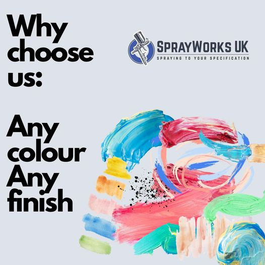 We have a wide range of colours for you to choose from....