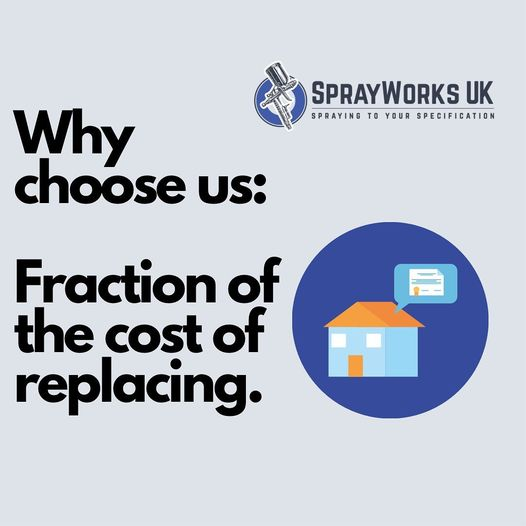 Why replace when you can renovate? Save your expenses.  #sprayworksuk #upvcdoors...