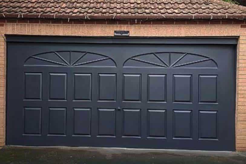 garage door spraying Walsall West Midlands