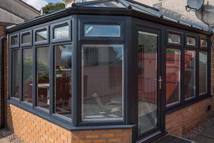 upvc conservatory spraying Walsall West Midlands