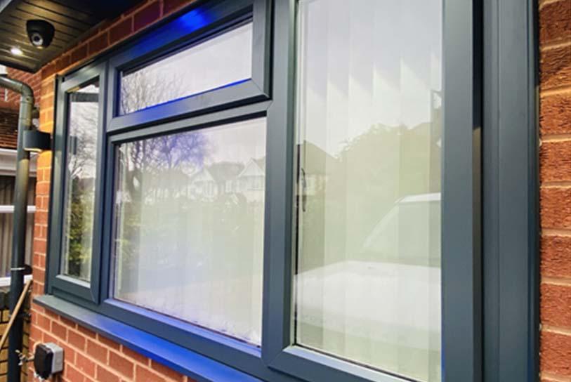 upvc window spraying Walsall West Midlands